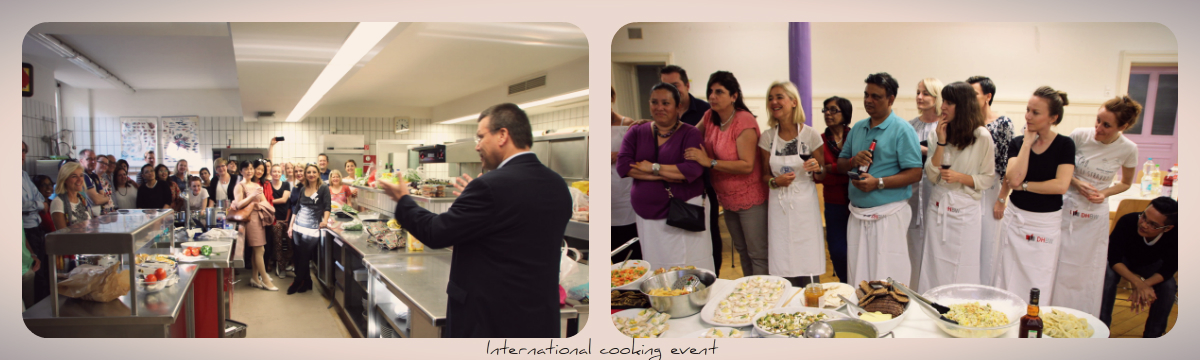 International cooking event