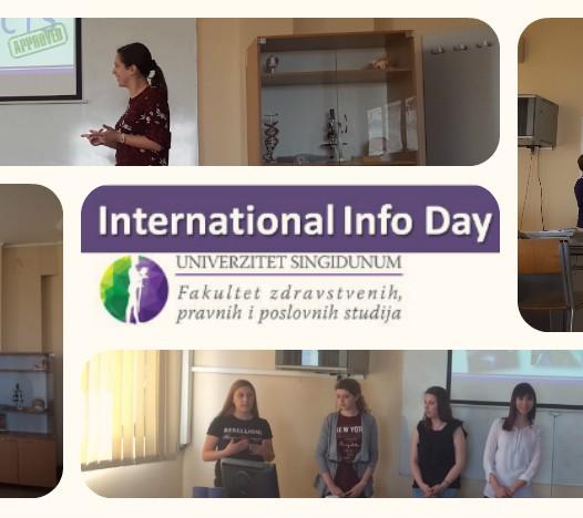 Prvi International Info Day