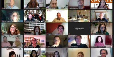 Profesori na međunarodnom onlajn prijemu