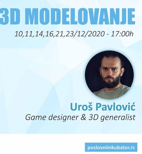 Obuka 3D modelovanje