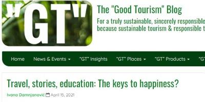 Članak naše profesorke o turizmu, storytelling-u i obrazovanju