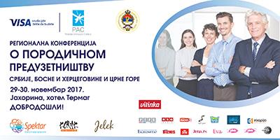 Regionalna konferencija o porodičnom preduzetništvu Srbije, Crne Gore i Bosne i Hercegovine.